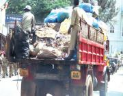 waste vehicle