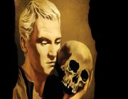 hamlet with skull painting