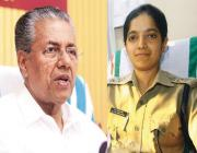 Pinarayi Vijayan,Chaitra Teresa John,