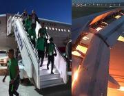 saudi-football-team, plane