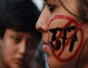 protest against section 377