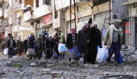 homs evacuation