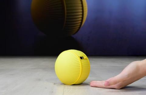 Samsung introduced rolling robot Ballie.