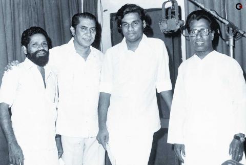 MK Arjunan, AT Ummar, KK Yesudas, K. Raghavan