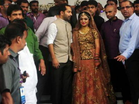 nazriya and fahad wedding