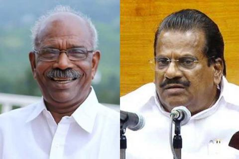 mm mani and ep jayarajan