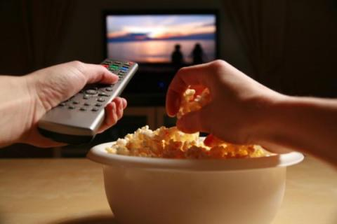 tv viewing and food