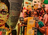 protest against jisha murder
