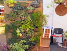 movable vertical garden