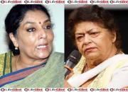 Renuka Chowdhury, Saroj Khan
