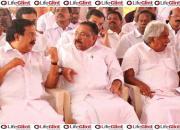 Oommen Chandy, Ramesh Chennithala, M.M Hassan