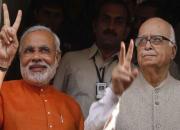 narendra modi and lk advani