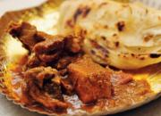 parotta and chicken curry
