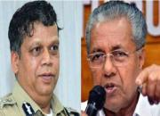 Loknath Behera and Pinarayi Vijayan