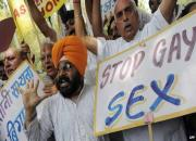 protest against gay sex