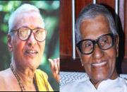 vaidyamadam narayanan and K Raghavan Master