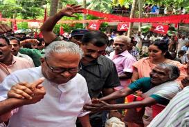 V. S. Achuthanandan Kerala Local Self Goverment Elelction