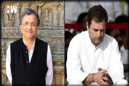 Ramachandra guha and Rahul Gandhi