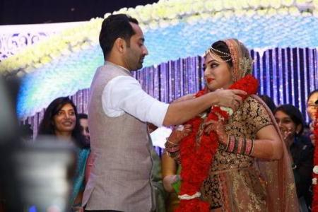 nazriya and fahad wedding