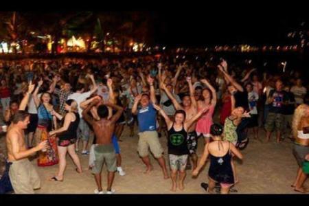 Goa night party